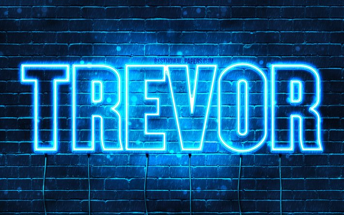 Download wallpapers Trevor, 4k, wallpapers with names ...