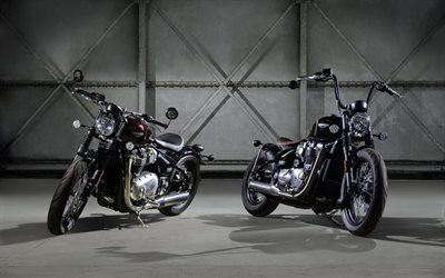 Triumph, 2017, bobber, new motorcycles, motorbike