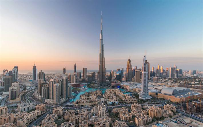 Descargar Fondos De Pantalla Dubai Burj Khalifa 4k