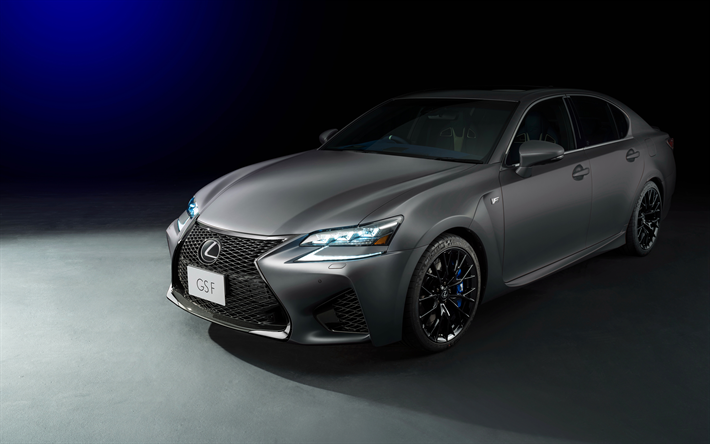 Download Wallpapers Lexus Gs F 4k 2018 Cars Limited Edition Japanese Cars New Gs Lexus For Desktop Free Pictures For Desktop Free