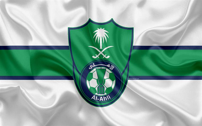 Descargar Fondos De Pantalla Al Ahli Sc 4k Arabia Club De F Tbol Al Ahli Logotipo Emblema