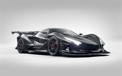 Apollo IE, 2019, luxury supercar, front view, hypercar, Apollo