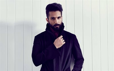 Shahid Kapoor, 4k, portrait, Indian actor, photoshoot, Bollywood, Indian star, India