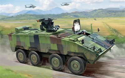 CM-32 Yunpao, Taiwan Infantry Fighting Vehicle, infantry, modern armored vehicles, Taiwan