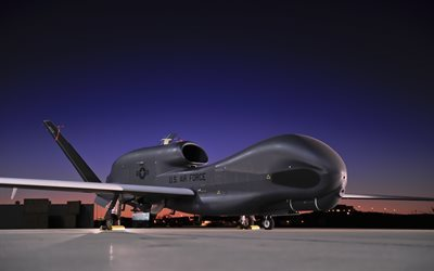 Northrop Grumman RQ-4, UAV, unmanned aerial vehicle, USA