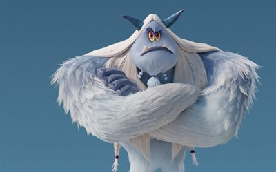 Jimmy Tatro, 2018 film, äventyr, 3D-animation, Smallfoot