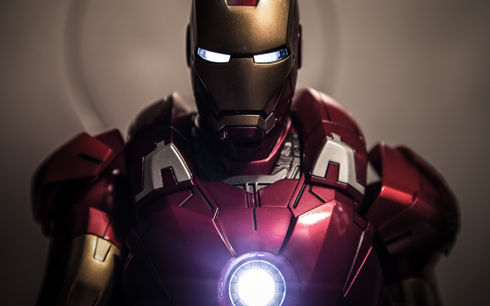 Download wallpapers 4k iron man robot superheros ironman for desktop free pictures for - Iron man wallpaper 4k ...