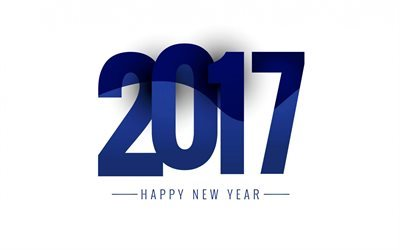 Happy New Year, 2017, New Year