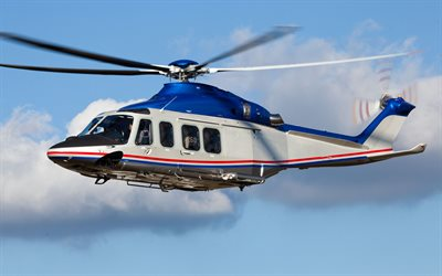 AgustaWestland AW139, multipurpose helicopter, passenger helicopter, 4k