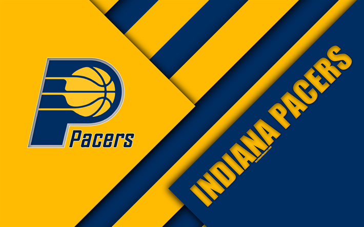 Download wallpapers indiana pacers nba 4k logo material design indiana pacers nba 4k logo material design american basketball club voltagebd Gallery