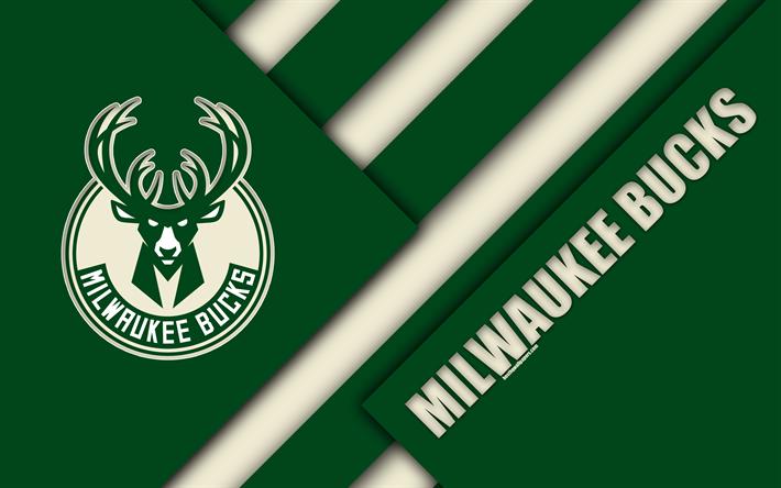 Download wallpapers Milwaukee Bucks, 4k
