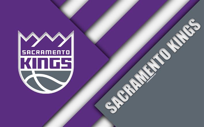 Sacramento Kings NBA 4k Logo Material Design American Basketball Club