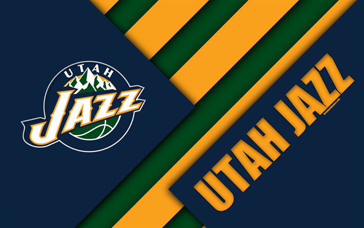Download wallpapers utah jazz 4k logo material design american utah jazz 4k logo material design american basketball club blue yellow we offer you to download wallpapers voltagebd Gallery