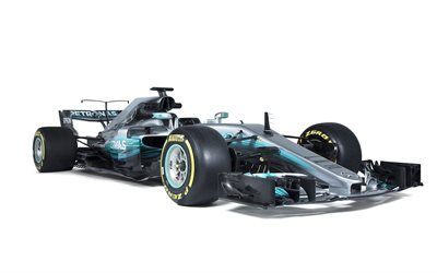 Formula 1, Mercedes-AMG F1 W08, 2017, F1, racing car