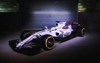 Formula1, Williams FW40, 2017, F1, racing car