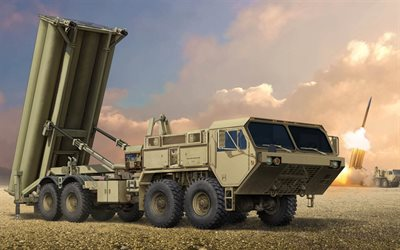 THAAD, Anti-missile system, air defense, USA, US Army, Lockheed Martin Missiles and Space, LMSC, Terminal High Altitude Area Defense