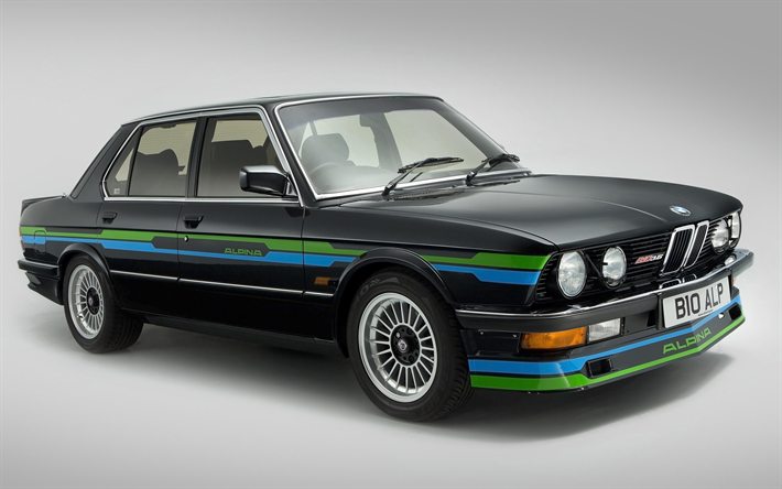 Download Wallpapers Alpina B10 1987 Cars 4k Uk Spec Bmw E28