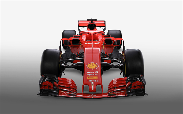 t l charger fonds d 39 cran ferrari sf71h 2018 f1 formule 1 vue de face l 39 ext rieur la. Black Bedroom Furniture Sets. Home Design Ideas