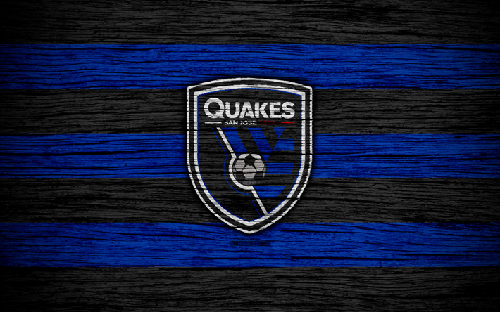 Download Wallpapers San Jose Earthquakes 4k Mls Wooden