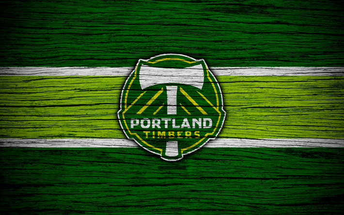 Portland Timbers 4k MLS Wooden Texture Western Conference Football Club