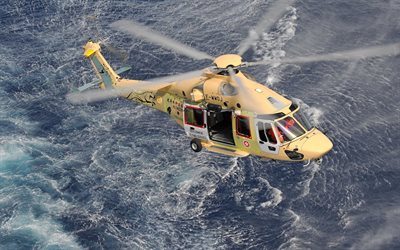 Airbus Helicopters H175, Eurocopter EC175, rescue helicopter, coast guard, modern helicopters, Airbus Helicopters
