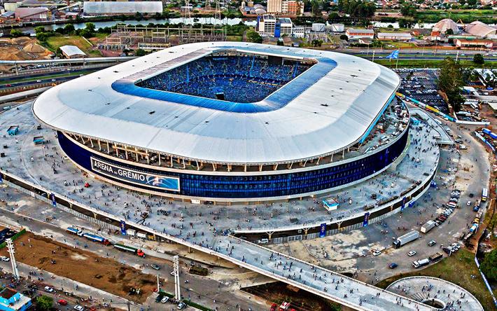 2067c7cc6 Scarica sfondi Arena do Gremio di Porto Alegre