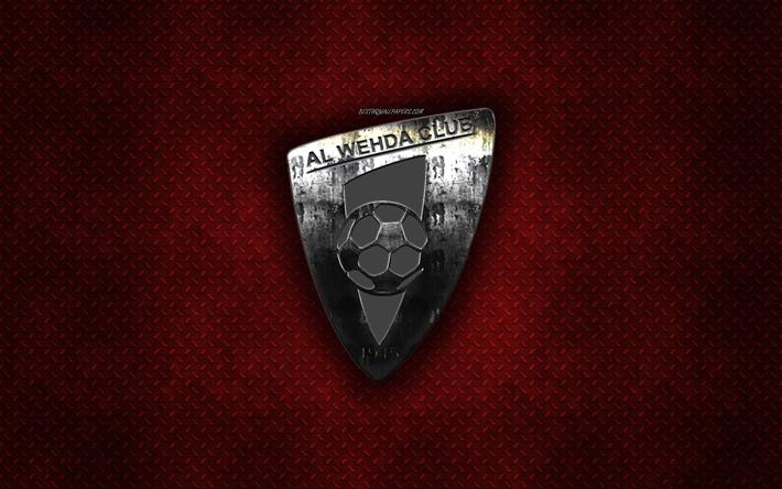 تحميل خلفيات Al نادي الوحدة السعودي لكرة القدم الأحمر