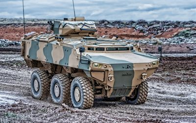 FNSS Pars, Armoured combat vehicle, PARS III, FNSS Pars 6х6, modern armored vehicles, Turkey, FNSS Defence Systems