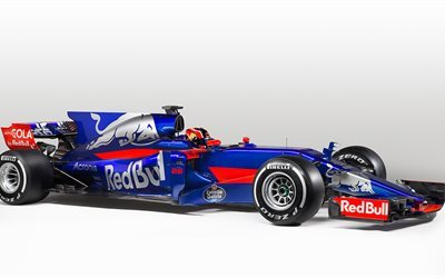 Formula 1, Toro Rosso, STR12, 2017, F1, racing car