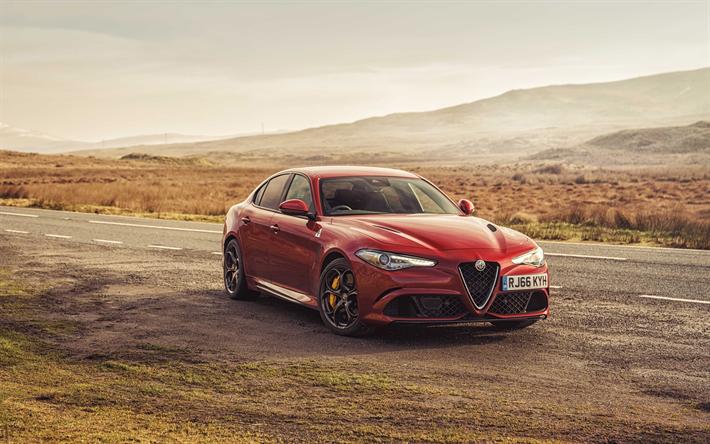 Descargar Fondos De Pantalla Alfa Romeo Giulia Quadrifoglio