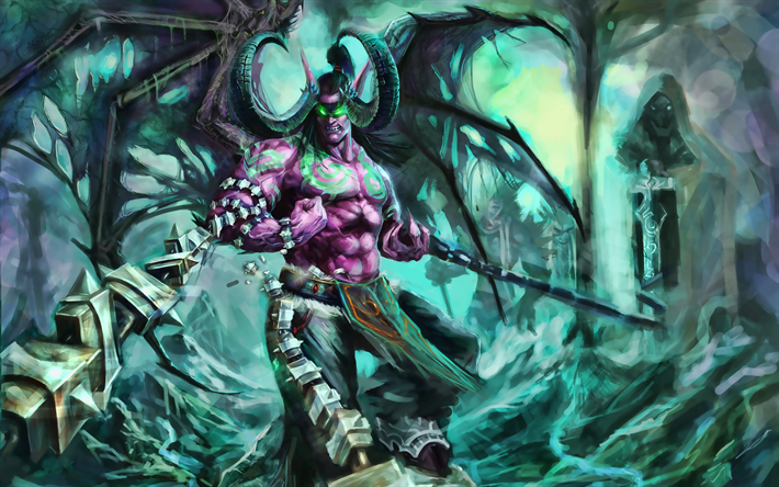 Download wallpapers Terrorblade, monster, Dota 2, darkness, artwork, Dota2,  Terrorblade Dota for desktop free. Pictures for desktop free