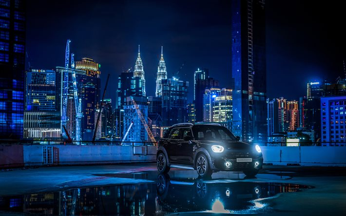 Mini Countryman S Blackheath, 4k, Kuala Lumpur, 2020-autot, F60, tuning, 2020 Mini Countryman S, british autot, Mini