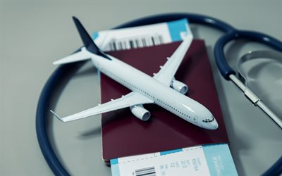 travel concepts, air travel, small plane, summer travel, airline tickets, insurance, buying tickets, travel health insurance