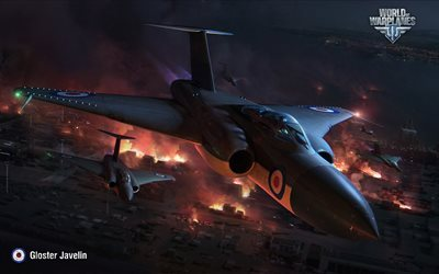 gloster javelin, wowp, world of warplanes