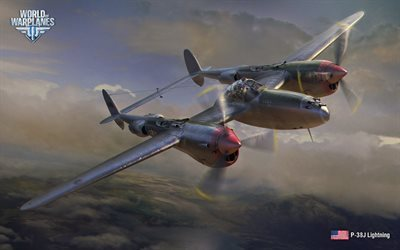 P-38J Salama, WoWP, taistelija, World of Warplanes