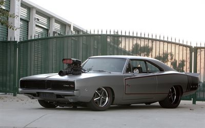muscle cars, Dodge Charger, supercars, tuning, Dodge