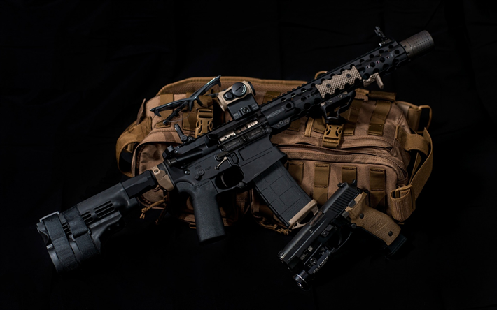 ArmaLite AR-15, assault rifle, United States, AR-15, US special forces, firearms