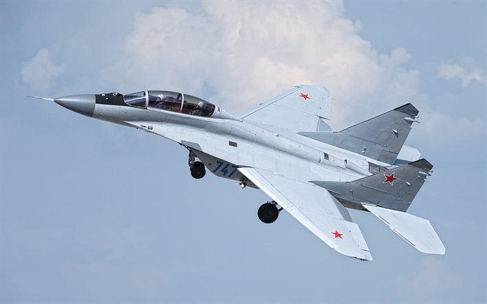 MiG 35 Russian Air Force Fighter Military Aircraft Combat Aviation