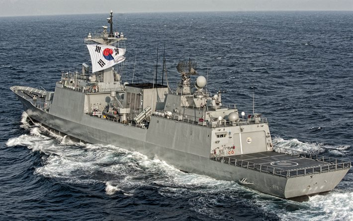 ROKS Munmu the Great, DDH-976, South Korean destroyer, South Korean navy, warships, Chungmugong Yi Sun-sin-class
