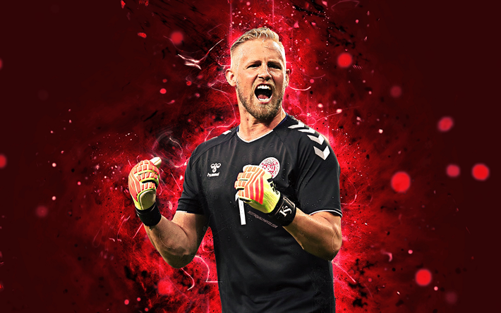 best cheap 5fdaf 56084 Download wallpapers Kasper Schmeichel, 4k, abstract art ...
