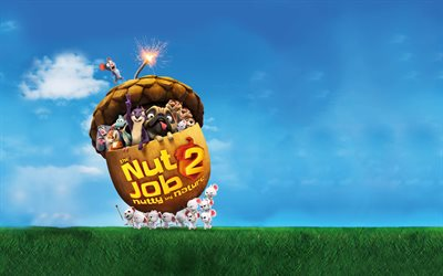 The Nut Job 2 Nutty by Nature, 2017 movies, 3d-animation