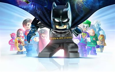 4k, Lego Batman 3 Beyond Gotham, 2017 games