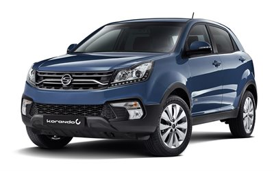 SsangYong Korando C, 2017, Facelift, SUV, new cars, Korean cars, SsangYong