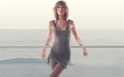 Taylor Swift, American singer, summer, beautiful young woman, blonde