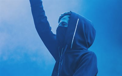 Alan Walker, 4k, consert, superstars, DJ Alan Walker, DJs, Alan Walker on stage