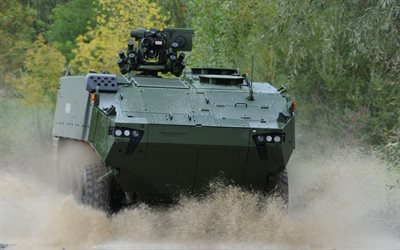 Mowag Piranha V, IFV, armored personnel carrier, offroad