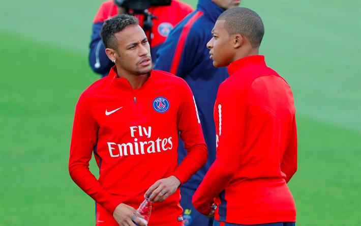 Neymar Jr Football Kylian Mbappe Paris Saint Germain France
