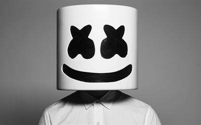 Marshmello, musician, art, DJ, superstars, DJ Marshmello