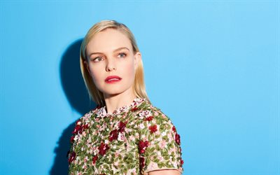 Kate Bosworth, american actress, portrait, photoshoot, dress with flowers, Hollywood star, Catherine Ann Bosworth