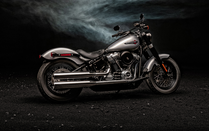 Download Wallpapers 2020 Harley Davidson Softail Slim